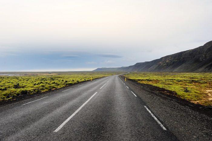 cesta na Islandiji