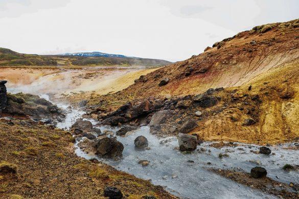 geotermalno področje Seltun