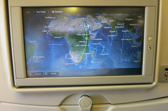ekran na letalu