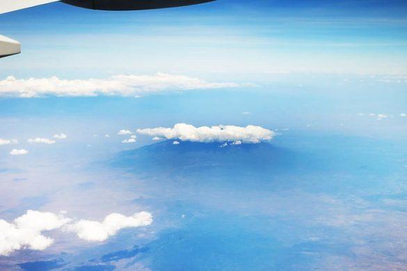 Kilimanjaro z zraka
