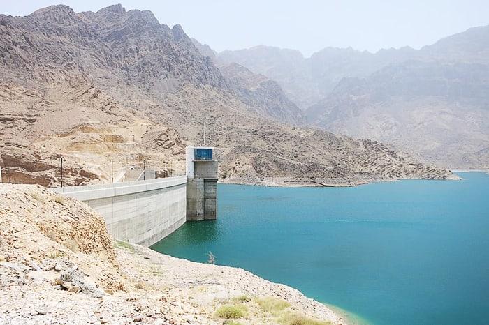 Wadi Daykah dam