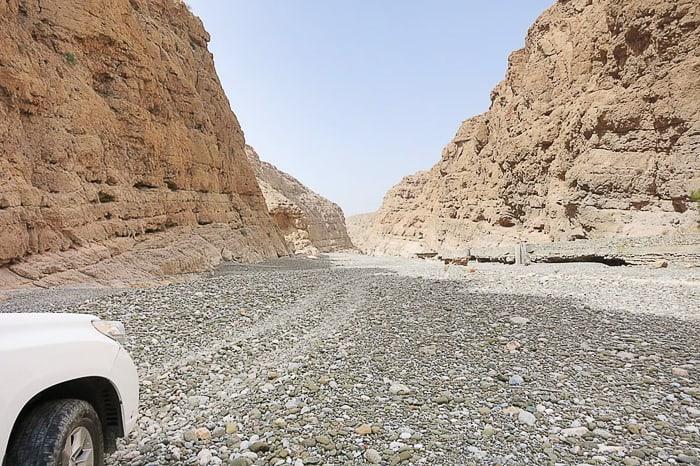pogled v kanjon Wadi Daykah