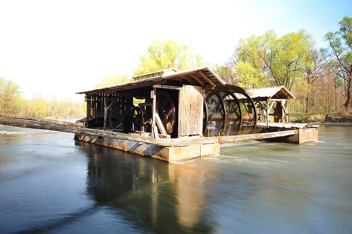 babičev mlin na reki Muri