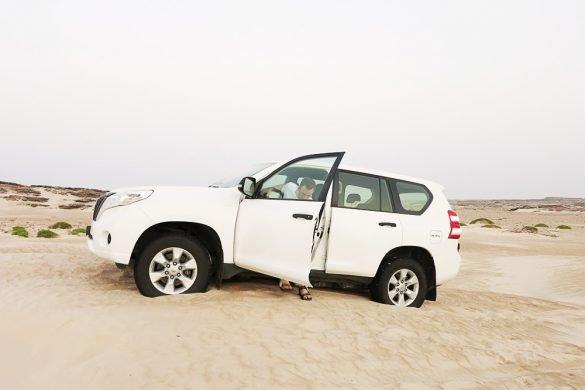 Terensko vozilo na sipini, Oman