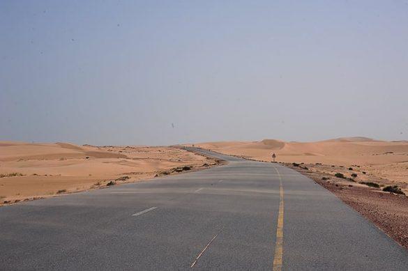 cesta skozi puščavo Wahiba, Oman