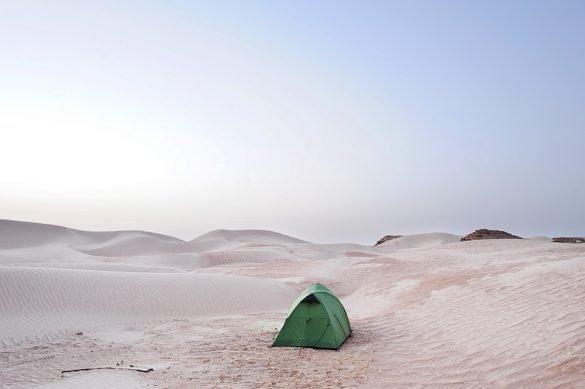 Divje kampiranje v Omanu