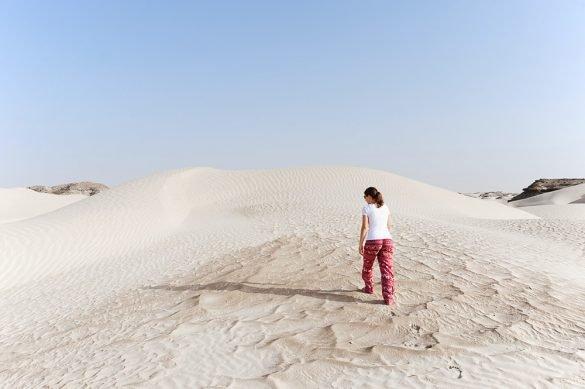 sprehod po sipini Al Khaluf