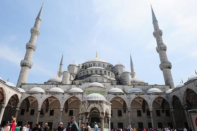 modra mošeja Istanbul