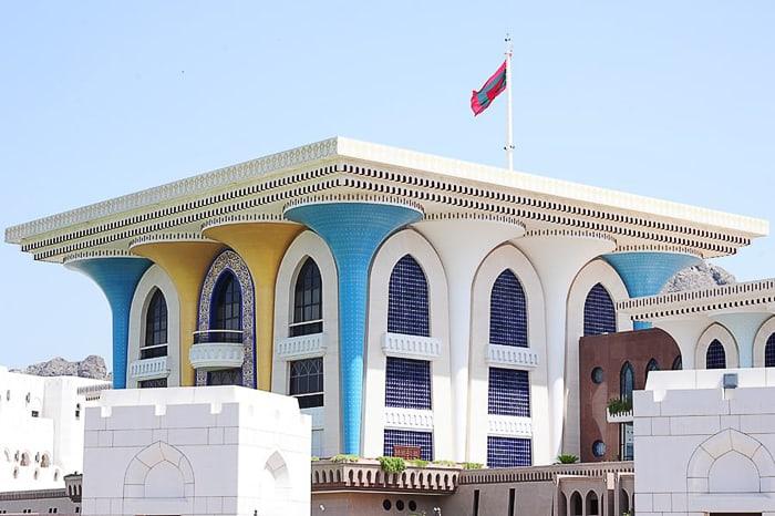 sultanova palača Al Alam Palace