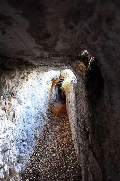 bunker oz. betonski tunel