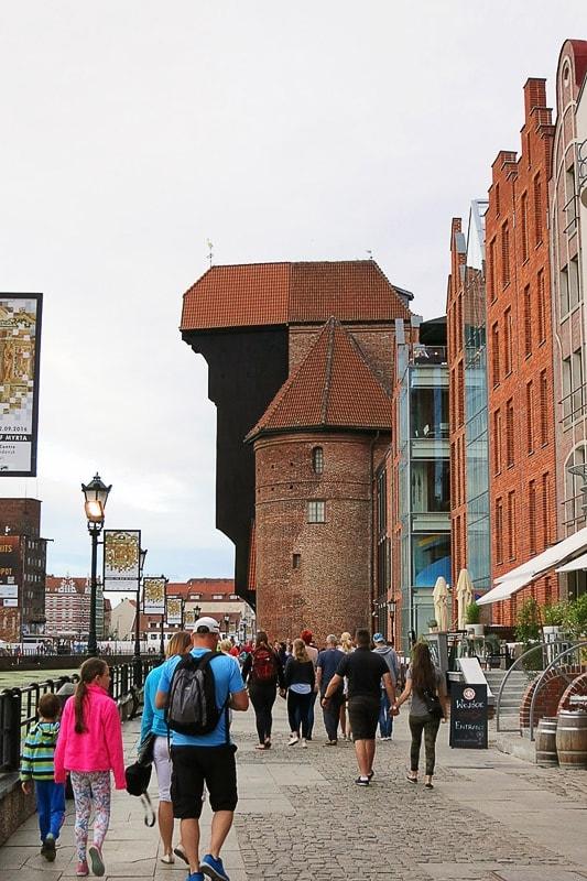 srednjeveško mesto gdansk