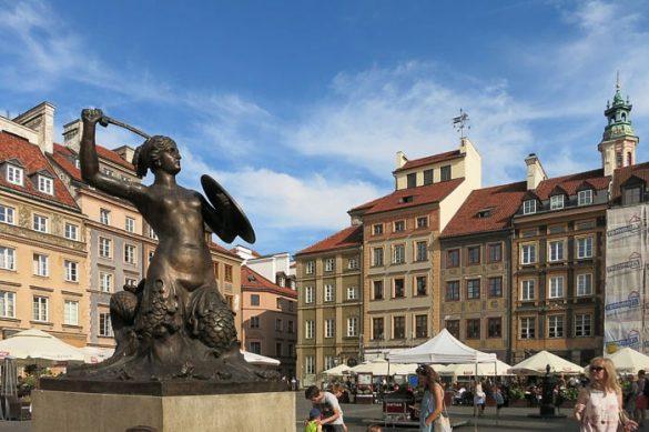 kip morske deklice v Varšavi