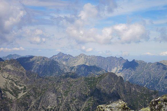 gorska veriga Visoke Tatre