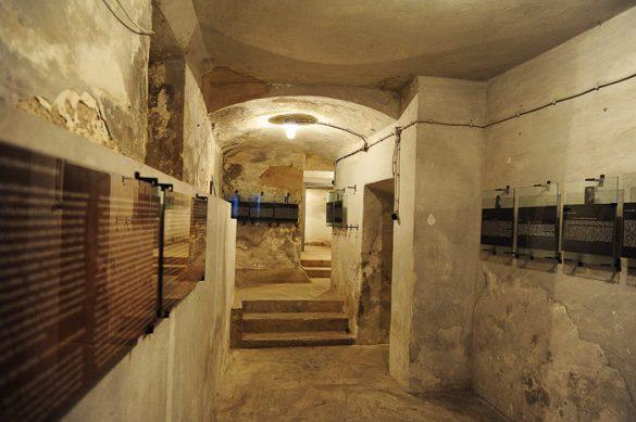 zaporniški hodnik Gestapo zapori Dravograd