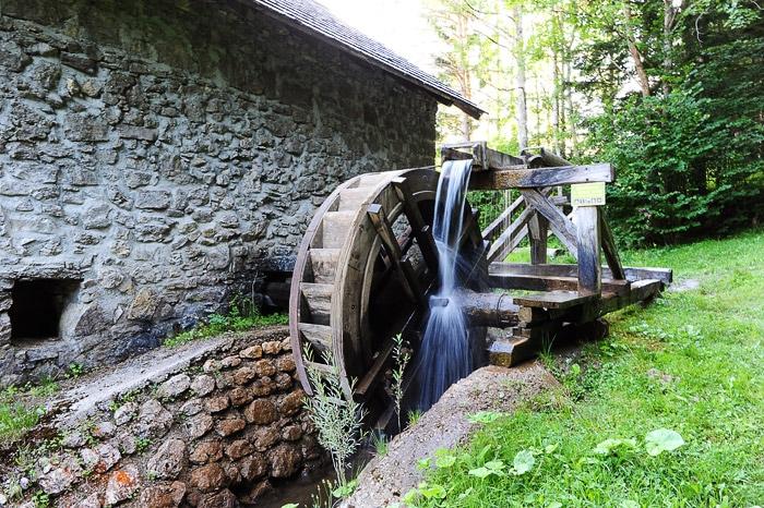 mlin na vodi, soteska Kaštel