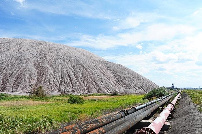 Slani hribi, Salihorsk, Belorusija