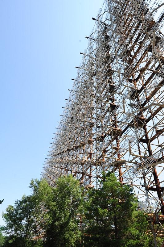 sovjetski radar v Ukrajini