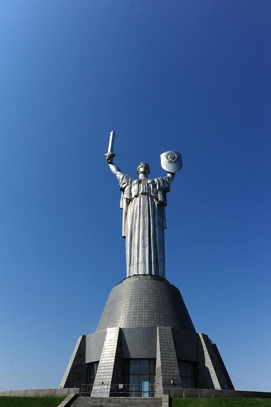 Kip domovini, Motherland, Kijev, Ukrajina