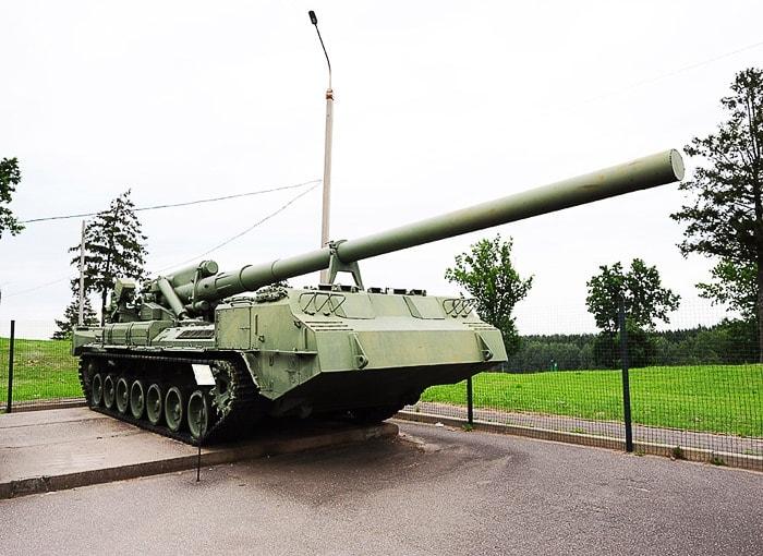 sovjetski tank v muzeju na prostem Stalinova linija