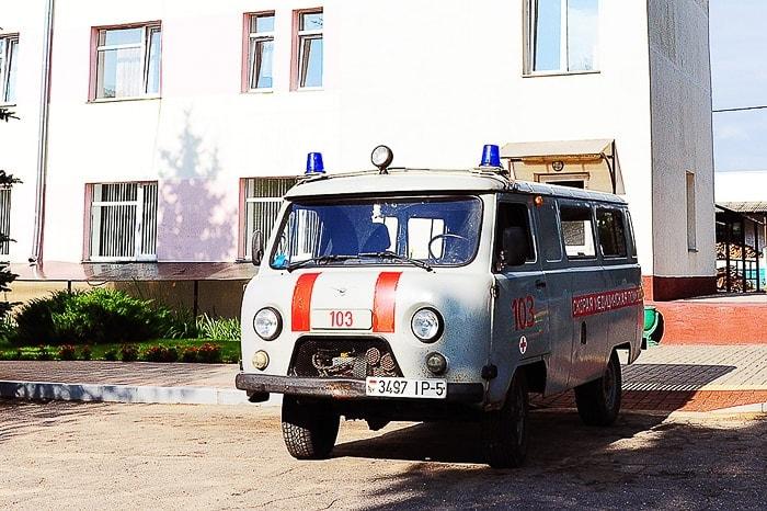 belorusko reševalno vozilo