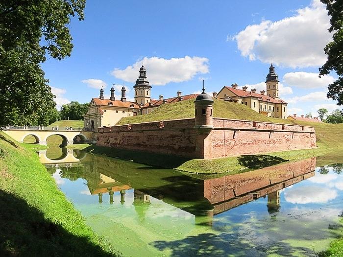 renesančni grad Njasviž