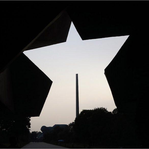 peterokraka zvezda kot vhod v trdnjavo herojev v Brestu, Belorusija