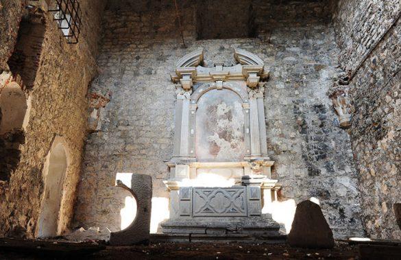 Ostanki nekdanje grajske kapele