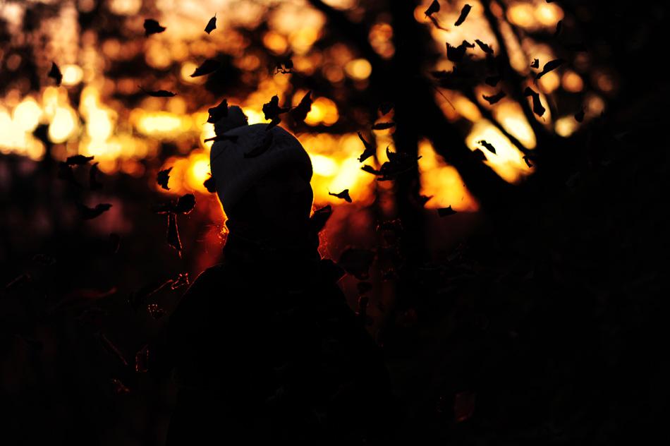 sončni vzhod na Bledu, Mala Osojnica