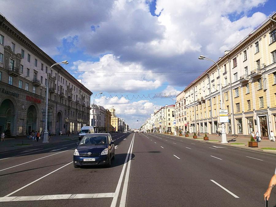 ceste Belorusija Minsk