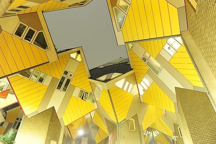 Cube houses ali kockaste hiše v Rotterdamu