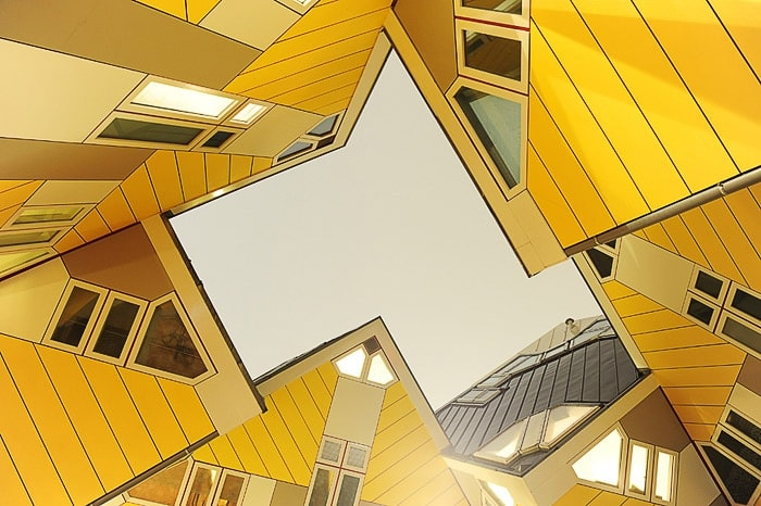 Cube houses v Rotterdamu