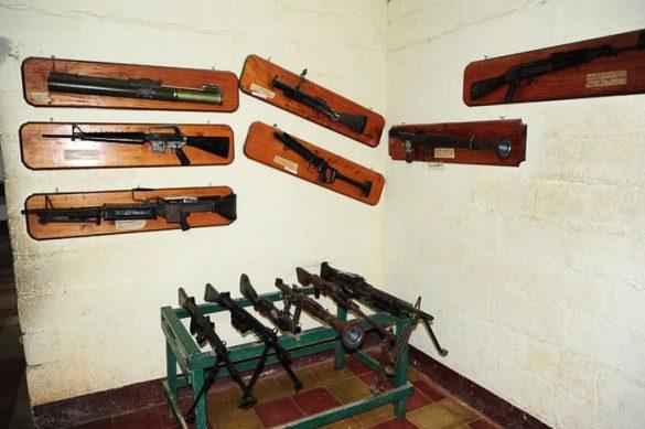 orožje gverilcev, Salvador