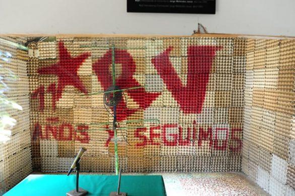 Radijski studio, muzej revolucije Perquin, Salvador