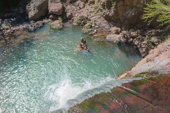 slapovi Salvadroja: cascadas de Perquin