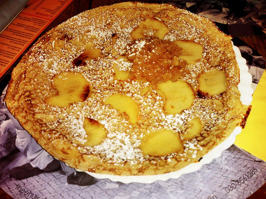 nizozemska jabolčne palačinke recept