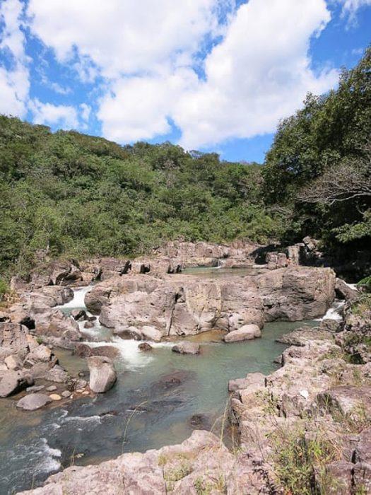 Rio Sapo, Salvador
