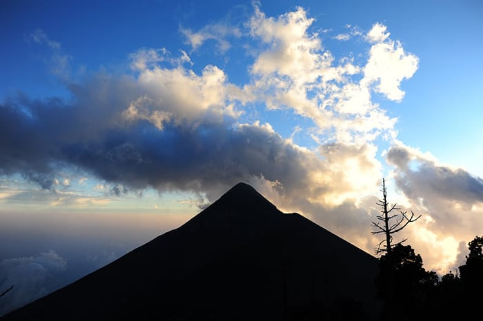vulkan Fuego, Gvatemala