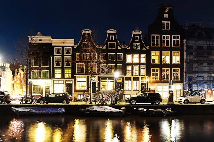 Nizozemska, kanali, Amsterdam