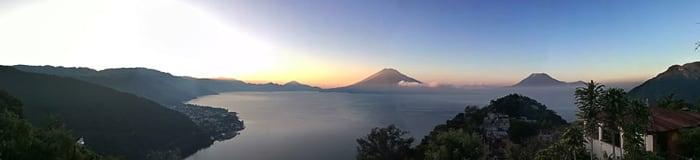 panorama Lake Atitlan