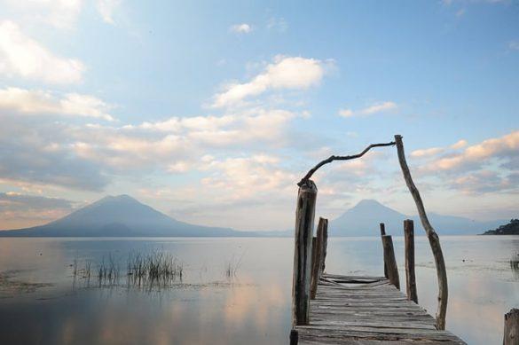 jezero atitlan, gvatemala
