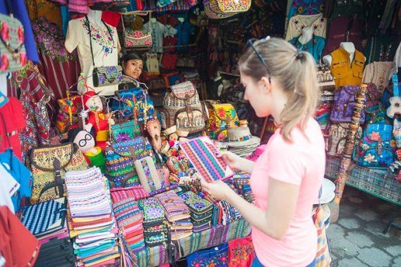 pisana tržnica Gvatemala