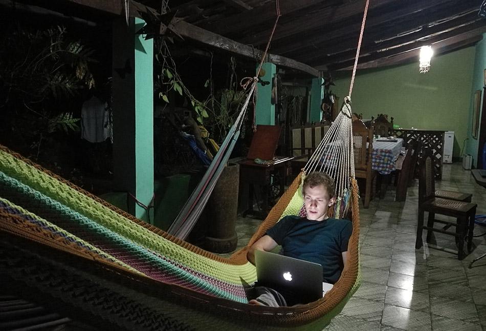 Viseča mreža v Salvadorju
