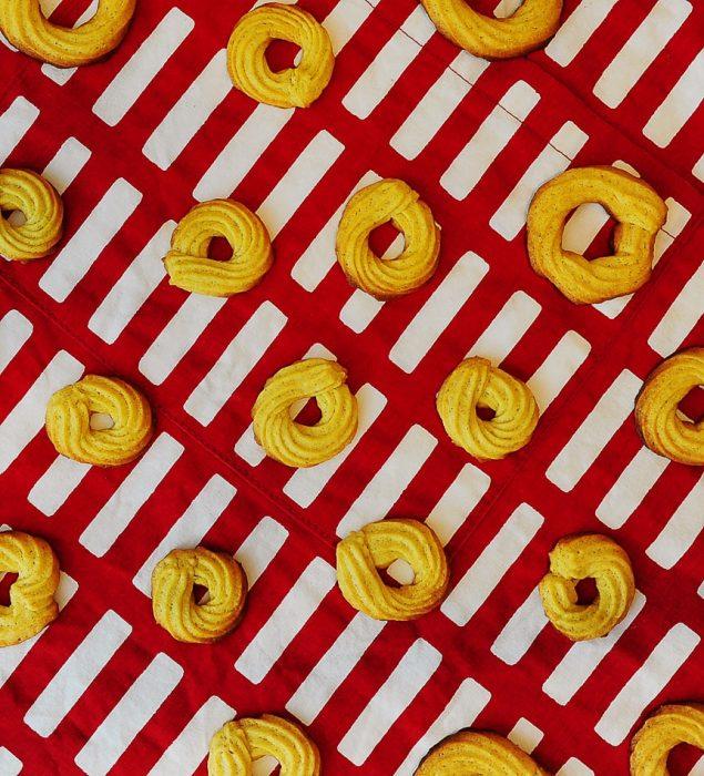 božični piškoti - danski masleni piškoti