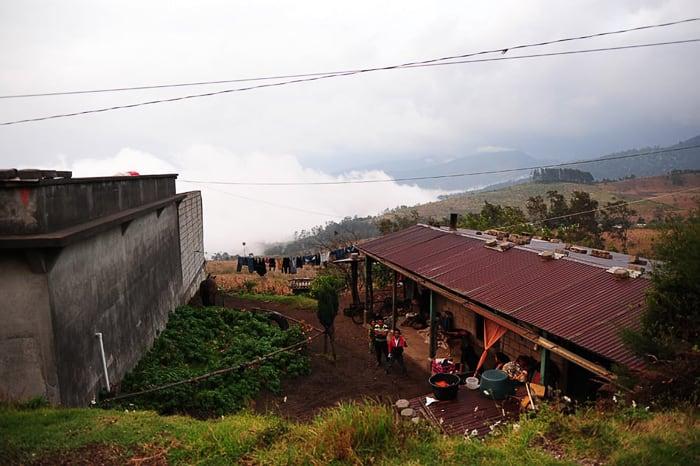 vas La soledad, Gvatemala