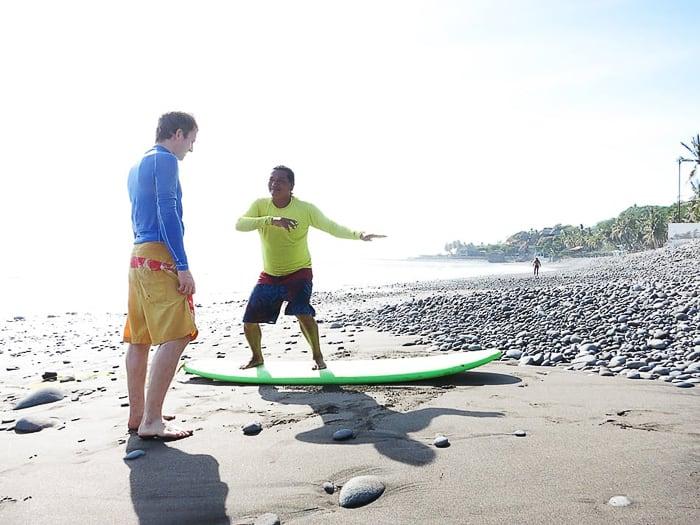 šola surfanja El Tunco
