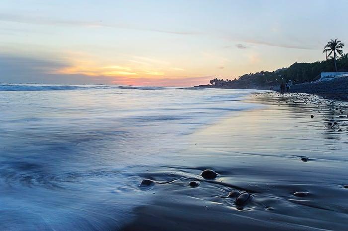 plaža El Tunco, Salvador