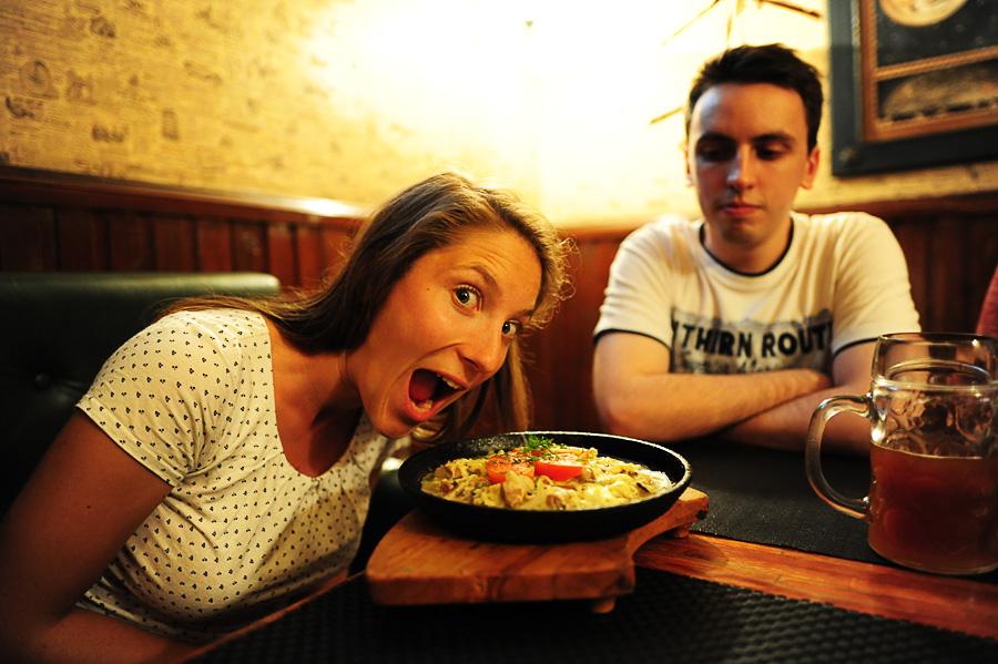 Tipična beloruska hrana - draniki