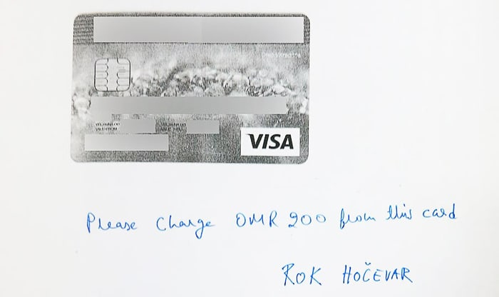 kreditna kartica Visa
