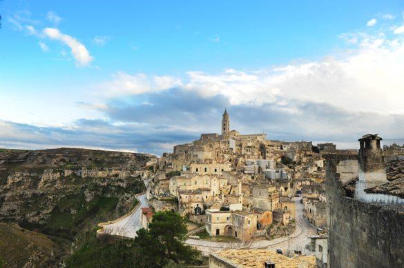 skalnato mesto Matera
