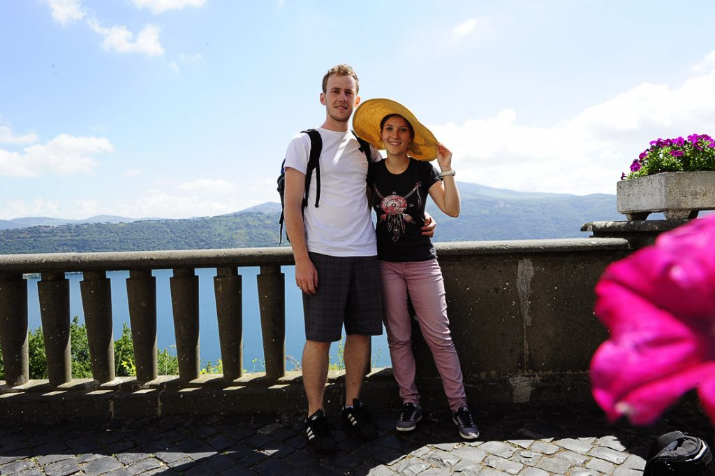 Lago Albano, Lahkih nog naokrog